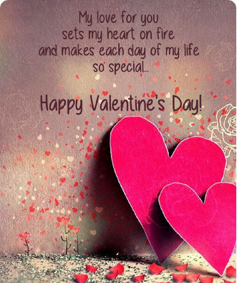 Happy Valentines Day Wife Quotes: Happy Valentines Day Images 2017 Wishes