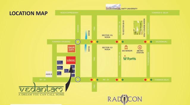 Vedantam-Location-map