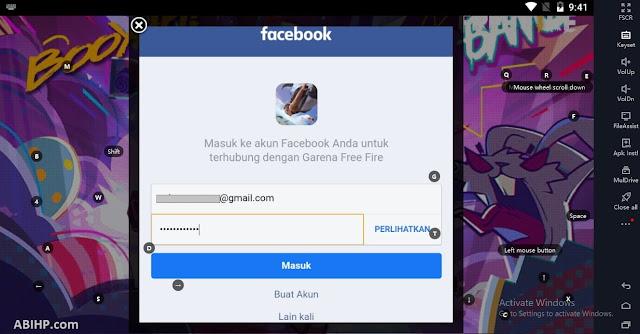 Login Facebook Free Fire