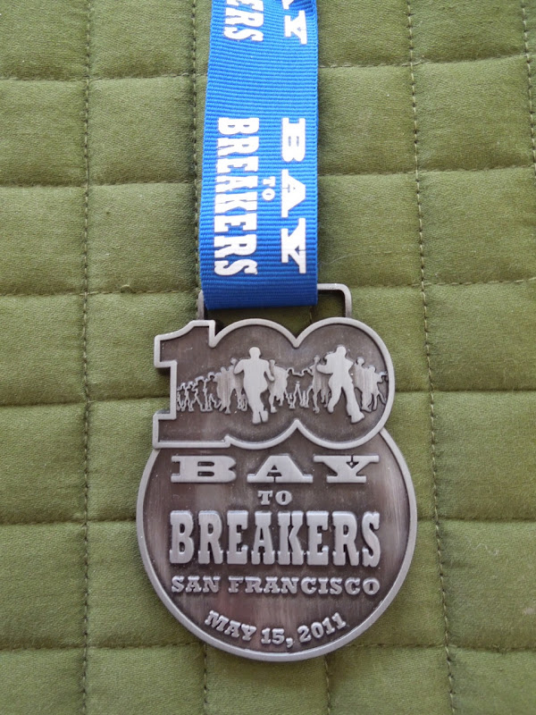 100th Bay to Breakers 12k medal