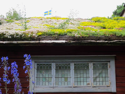 Trädgådskonst, blommande tak