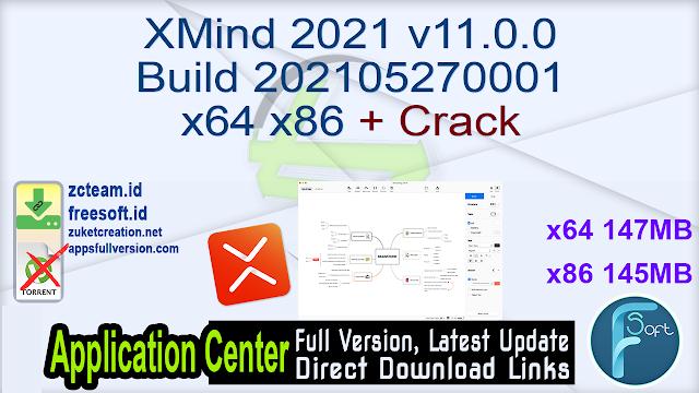 XMind 2021 v11.0.0 Build 202105270001 x64 x86 + Crack_ ZcTeam.id