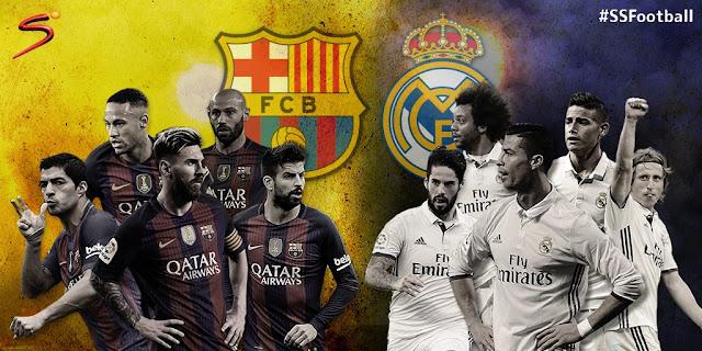 مشاهدة مباراة الكلاسيكو ريال مدريد وبرشلونة بث مباشر تعليق رؤوف خليف بي أن سبورت HD1