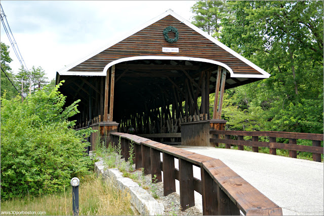 Puente Cubierto Rowell's Bridge en New Hampshire
