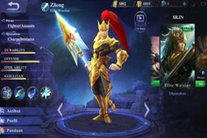 Cara Set Build Zilong Full Damage Mobile Legends