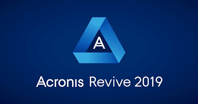 تحميل برنامج استعادة الملفات المحذوفة من الكمبيوتر Acronis Revive 2019