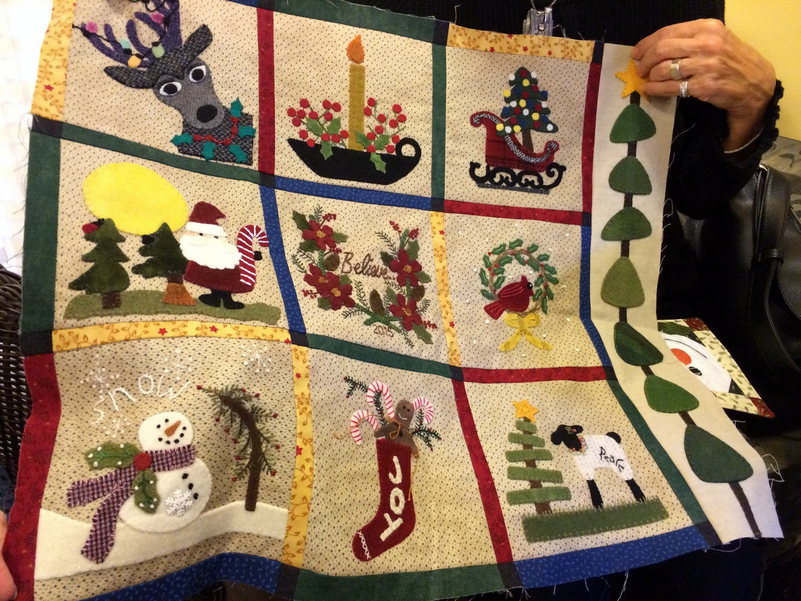 Farmhouse Threads Sweet P Quilting And Creations Christmas Eye Candy