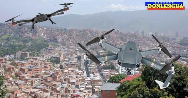 El Coqui vigila la Cota 905 y El Cementerio con Drones de última generación