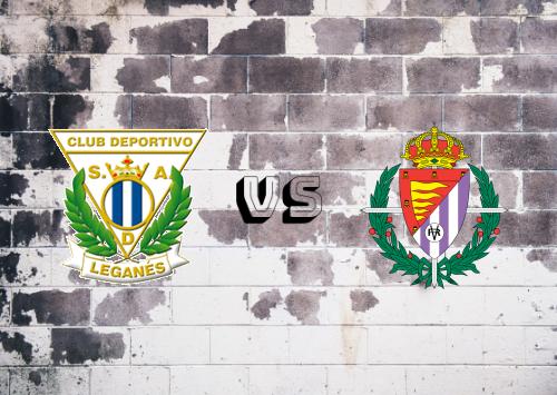 CD Leganés vs Real Valladolid  Resumen