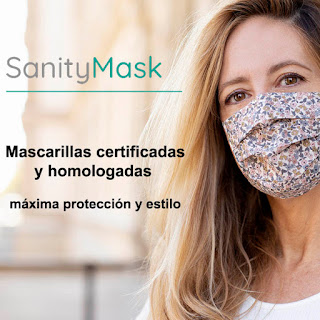 40% de descuento en mascarillas homologadas de tela