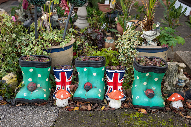 Union flag wellies