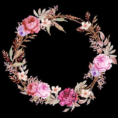 Psiu Noiva - Mais de 30 Frames Florais Para Download Grátis