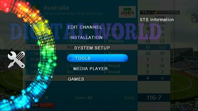 STAR TREK HD RECEIVER ALI3510D HW 104.02.999 NEW SOFTWARE