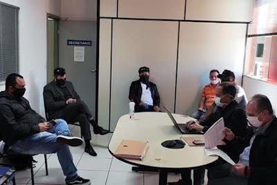 Reunião entre Sinttromar e TCCC