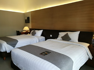Hotel dengan kamar luas di Sentul