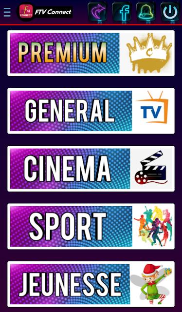 تحميل تطبيق FTV Connect apk لمشاهدة القنوات الفرنسية و الافلام جديد 2021
