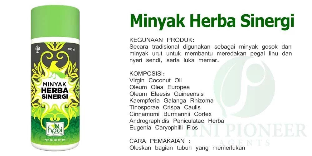 minyak herba sinergi dari HPAI