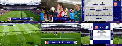PES 2020 Scoreboard NBCSN Premier League V2 by Predator002