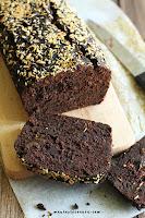 ciasto czekoladowo-bananowe Fit (wegańskie, bez glutenu i cukru)