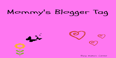 mommy's blogger tag