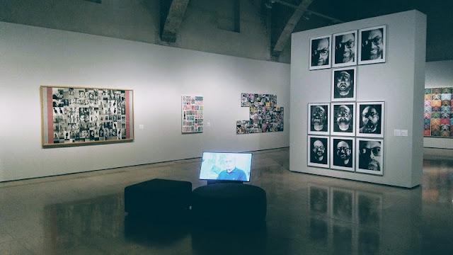 """Vista de la exposición """"Luis Gordillo. Fotoalimentación"""". Centre del Carme, Valencia"""