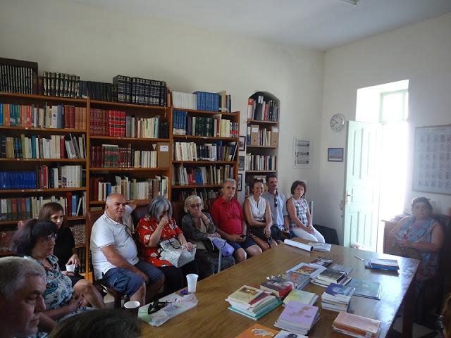 Συνάντηση Συγγραφέων και Λογοτεχνών στη Δημοτική Βιβλιοθήκη Κρανιδίου