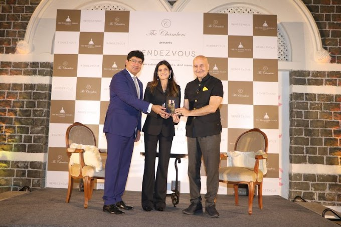 Anupam Kher's Book 'Your Best Day Is Today' Launched at The Chambers' 'RENDEZVOUS' at Taj Mahal Palace, Mumbai