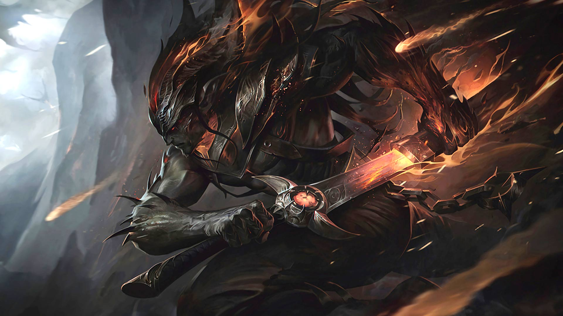 League Of Legends Nightbringer Yasuo