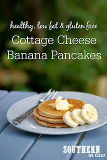 Healthy Cottage Cheese Banana Pancakes Recipe Gluten Free