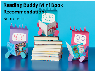 You write a mini recommendation in a mini book - can it get any cuter?