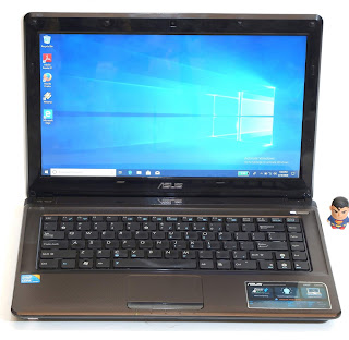 Laptop Second ASUS A42F Core i3 Series Malang