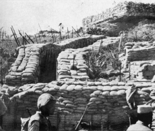 Αιγύπτιοι στρατιώτες διέρχονται διαμέσου της Γραμμής Bar-Lev