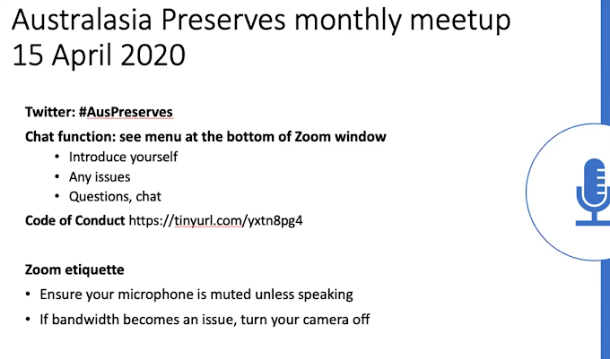 April Monthly Meetup 2020