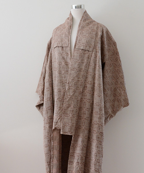 着物 FUNS コート ジャパンヴィンテージ 60年代 アンティーク 幾何学 Kimono Coat Japanese Vintage 60s Antique Geometry