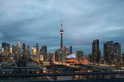 Toronto. As the capital of Ontario