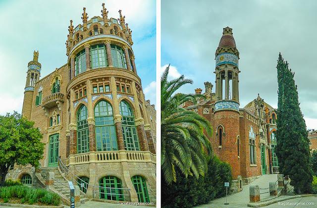 Pavilhões do Hospital de la Santa Creu i Sant Pau