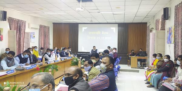 मुख्यमंत्री हेल्पलाईन पोर्टल पर दर्ज शिकायतों का तत्काल निराकरण करने के निर्देश