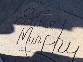 USA Reise Experten-Schriftplatte Eddie Murphy auf dem Hollywood Walk of Fame