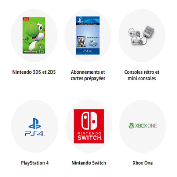 JEUX VIDÉO (Consoles et Accessoires) : Amazon.fr - Achetez des jeux vidéo, consoles (PS4, Xbox One, Xbox 360, Nintendo Wii U et autres), et accessoires sur Amazon.fr ✓ Livraison gratuite possible (voir conditions)