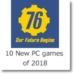 10 New PC games of 2018