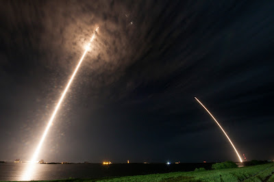Space X launch and landing