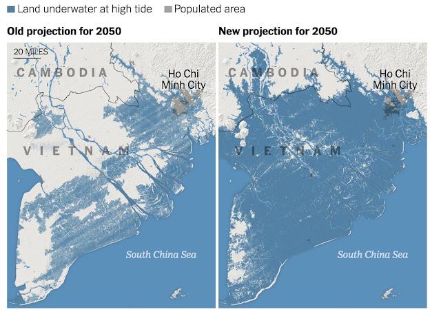 Sebahagian Malaysia Akan 'Hilang' Daripada Peta Dunia Menjelang Tahun 2050