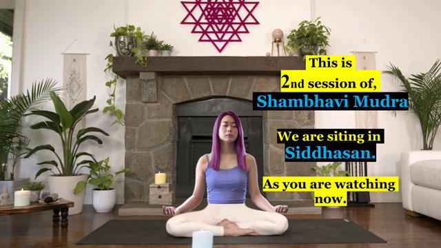 Siddhasana for Shambhavi Mahamudra