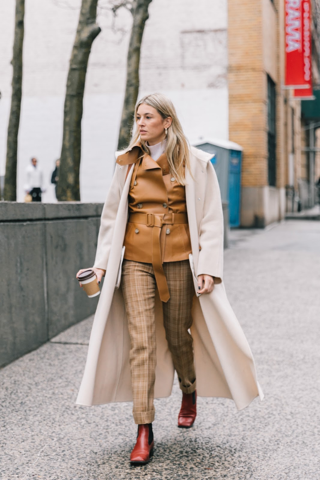 NYFW Fall 2018 Street Style   Collage Vintage
