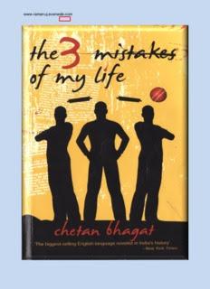 Three Mistakes of My Life by Chetan Bhagat PDF