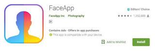 Aplikasi FaceApp Gratis