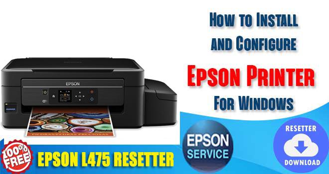 Epson L475 Adjustment Program
