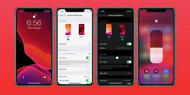 Apple iOS 13 versions with dark mode and more