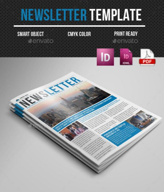 2. Newsletter Indesign Template