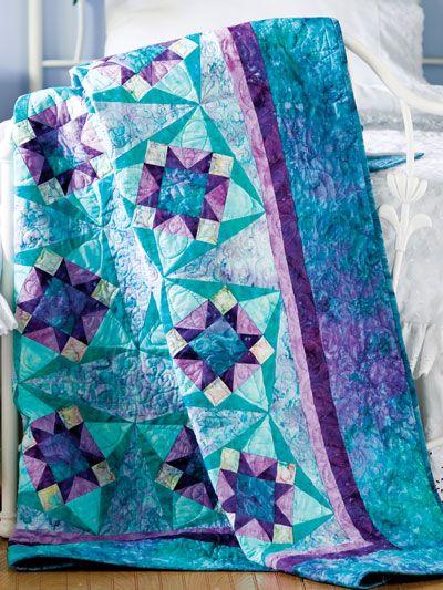 Diamond Twist Quilt Free Pattern